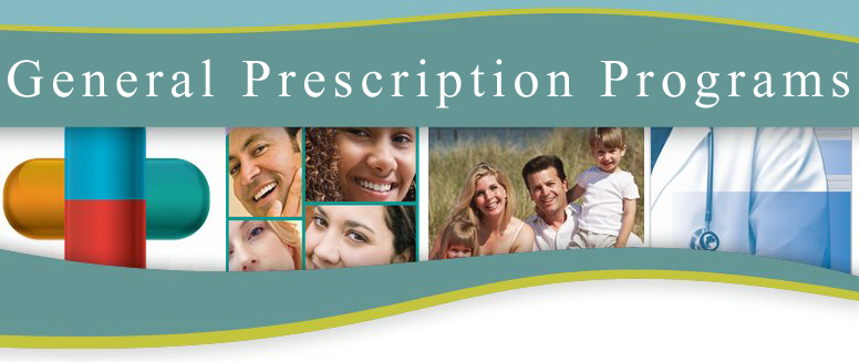 General Prescription Programs